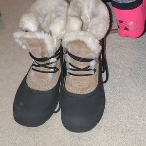 Sorel lined snow boots